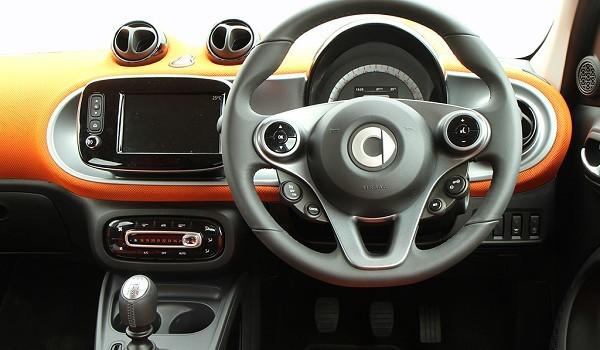 Smart Forfour Hatchback 0.9 Turbo Prime Premium 5dr Auto