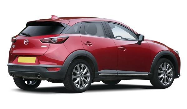 Mazda CX-3 Hatchback 2.0 150 Sport Nav + 5dr AWD [Safety+Leather Pack]