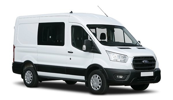 Ford Transit 350 L2 FWD 2.0 EcoBlue Hybrid 130ps H3 Trend Double Cab Van
