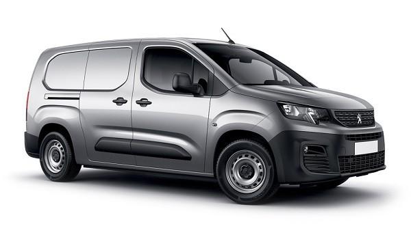 Peugeot Partner Standard 1000 1.5 BlueHDi 100 Asphalt Van
