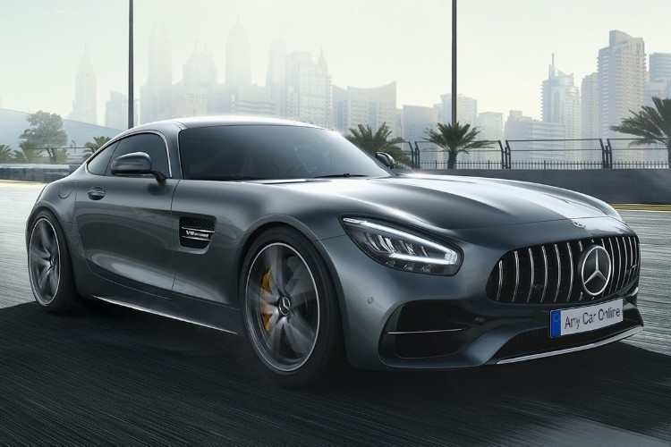 Mercedes AMG GT Coupe Leasing