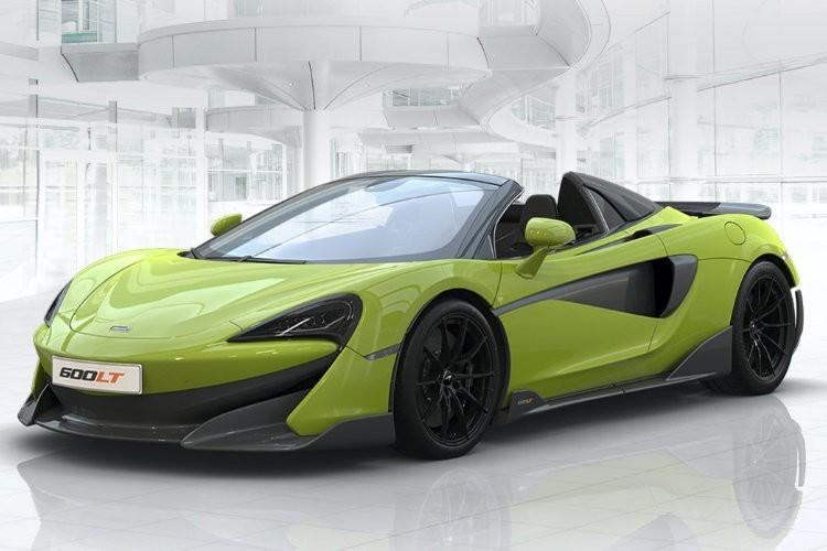 McLaren 600LT Spider Leasing
