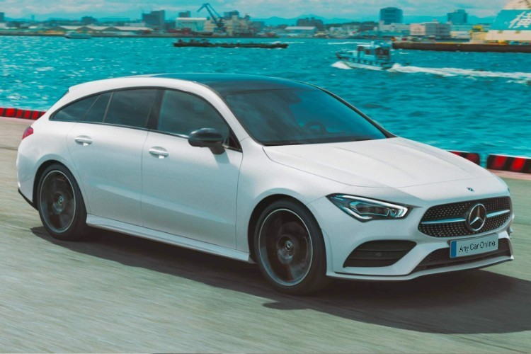 Mercedes CLA Shooting Brake Leasing