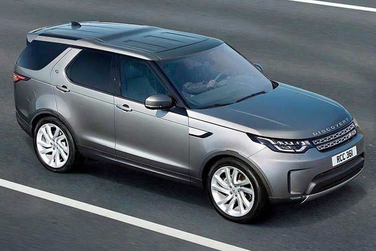 Land Rover Discovery Van Lease