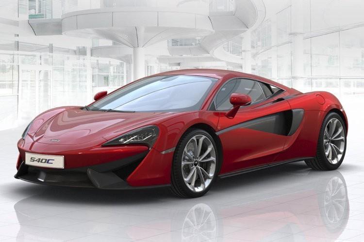 McLaren 540C Leasing