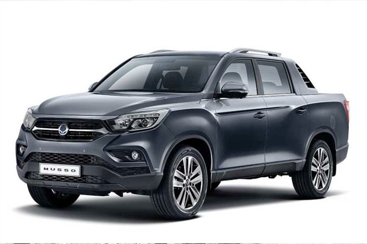 Ssangyong Musso Leasing