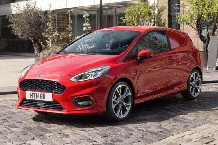 Ford Fiesta Van Leasing