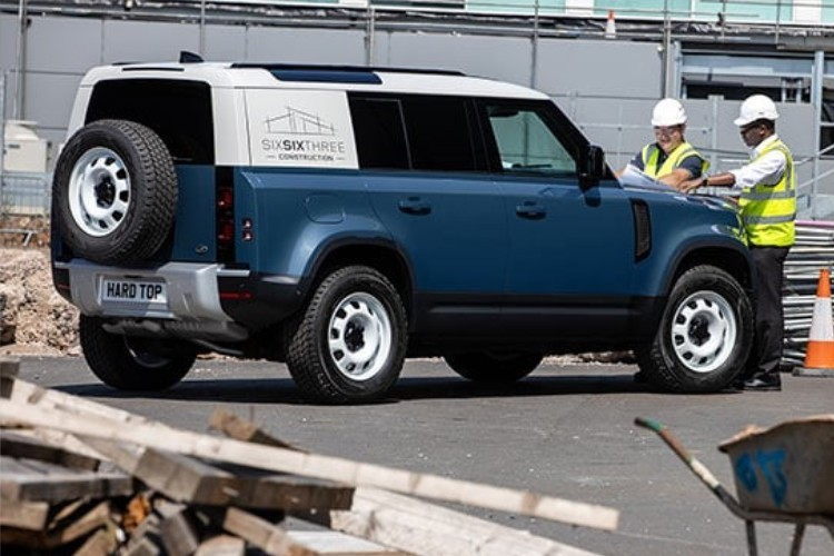 Land Rover Defender Hard Top Leasing