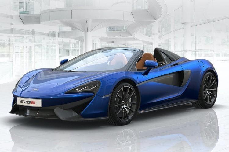 McLaren 570S Convertible Leasing